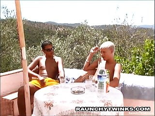 Twinks fucking on the beach...