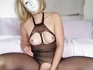 Masturbation With A Dildo In A Shoe