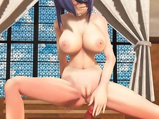 Mmd sexy babe big tits cowgirl amp doggy...