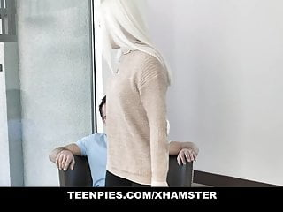 TeenPies - Horny Schoolgirl Gets Filled With Cum