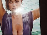 Cum tribute SI swimsuit model