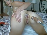 blonde cougar anlly fucked by machine